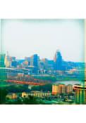 Cincinnati Skyline 4x4 Coaster