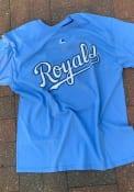 Majestic Kansas City Royals Blue Wordmark Tee
