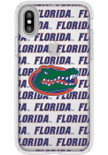 Florida Gators iPhone X Speck Presidio Clear Phone Cover