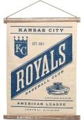Kansas City Royals Banner Canvas Wall Wall Art
