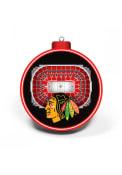 Chicago Blackhawks 3D Stadium View Ornament