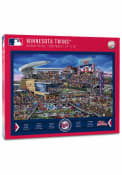 Minnesota Twins 500 Piece Joe Journeyman Puzzle