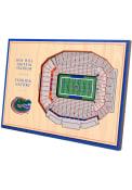 Florida Gators 3D Desktop Stadium View Orange Desk Accessory
