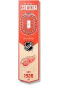 Detroit Red Wings 8x32 inch 3D Stadium Banner