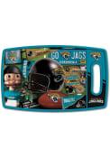 Jacksonville Jaguars Retro Cutting Board
