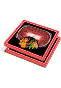 Chicago Blackhawks 3D Stadium View Coaster