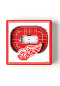 Detroit Red Wings 3D Stadium View Magnet