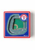 Texas Rangers 3D Stadium View Magnet