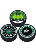 Dallas Stars 3 Pack Collectible Hockey Puck