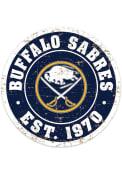 Buffalo Sabres Vintage Wall Sign