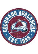 Colorado Avalanche Vintage Wall Sign