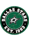 Dallas Stars Vintage Wall Sign