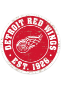 Detroit Red Wings Vintage Wall Sign
