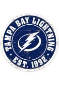 Tampa Bay Lightning Vintage Wall Sign