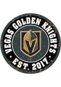 Vegas Golden Knights Vintage Wall Sign