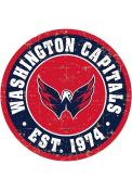 Washington Capitals Vintage Wall Sign