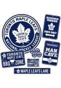 Toronto Maple Leafs Ultimate Fan Set Sign