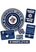 Winnipeg Jets Ultimate Fan Set Sign