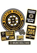 Boston Bruins Ultimate Fan Set Sign