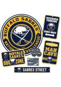 Buffalo Sabres Ultimate Fan Set Sign