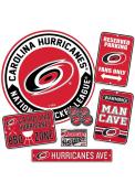 Carolina Hurricanes Ultimate Fan Set Sign