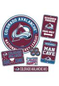 Colorado Avalanche Ultimate Fan Set Sign