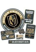 Vegas Golden Knights Ultimate Fan Set Sign