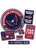 Washington Capitals Ultimate Fan Set Sign