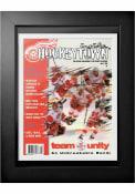 Detroit Red Wings Vintage Program Wall Art