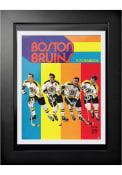 Boston Bruins Vintage Program Wall Art