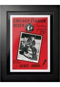Chicago Blackhawks Vintage Program Wall Art