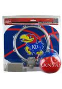 Kansas Jayhawks Slam Dunk Hoopset Basketball Set