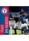 Texas Rangers 2021 12x12 Team Wall Calendar