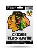 Chicago Blackhawks 3PK Auto Decal - Red
