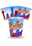 Dallas Ft Worth Skyline Ceramic Shot Glass