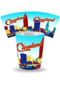 Cleveland Skyline Ceramic Shot Glass