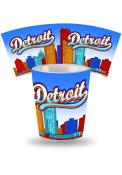 Detroit Skyline Ceramic Shot Glass