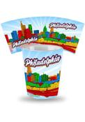 Philadelphia Skyline Ceramic Shot Glass