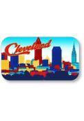 Cleveland Skyline Crystal Magnet