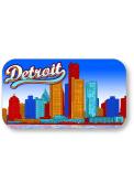 Detroit Skyline Crystal Magnet