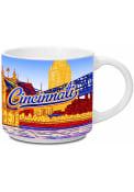 Cincinnati Skyline White 14 oz Metro Mug