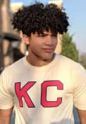 Kansas City Monarchs Archive Brass Tacks 2 Fashion T Shirt - White