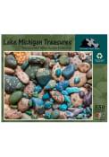 Chicago Lake Michigan Treasures 550 Piece Puzzle