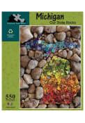 Detroit Michigan Stones 550 Piece Puzzle