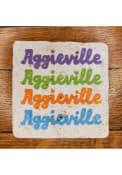 Manhattan Aggieville Stacked Coaster