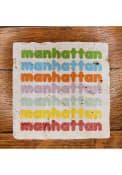 Manhattan Stacked Coaster