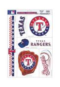 Texas Rangers 11x17 Multi-Use Auto Decal - Blue