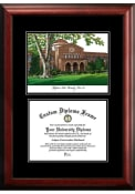 CSU Chico Wildcats Diplomate and Campus Lithograph Picture Frame