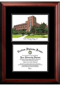 DePaul Blue Demons Diplomate and Campus Lithograph Picture Frame