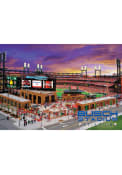St Louis Busch Stadium Postcard